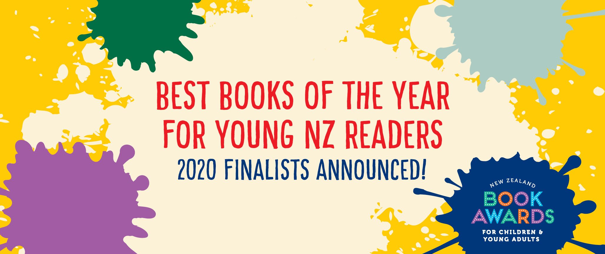 Best books of the year for young NZ readers - 2020 finalists announced