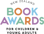 New Zealand Book Awards for Children and Young Adults logo
